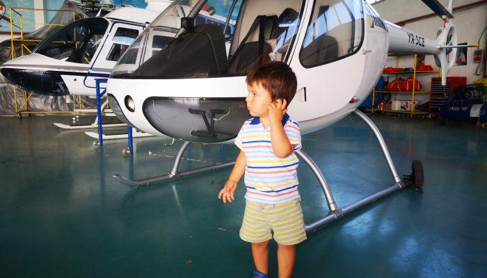 Elicoptere și copii